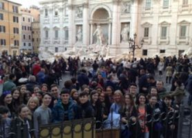 School trip to Rome - 22nd Feb 2018