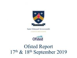 Ofsted Report 17th & 18th September 2019